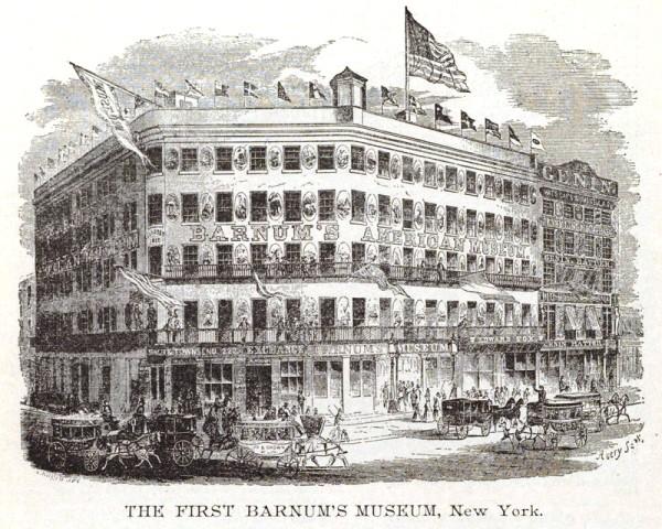 220 Broadway, P.T. Barnum American Museum