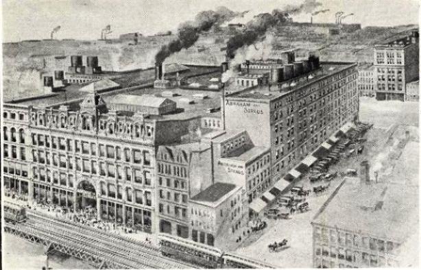 Abraham & Straus, Brooklyn, Fulton Street, 1915